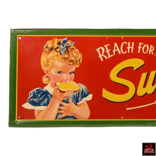 Vintage Sunbeam Bread Sign