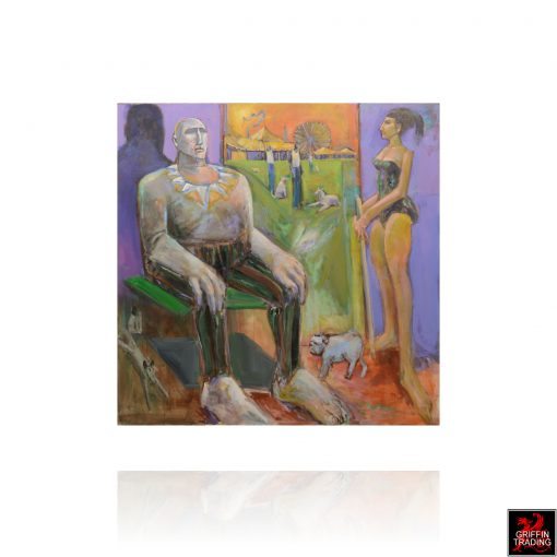 Nik Puspurica Circus Painting