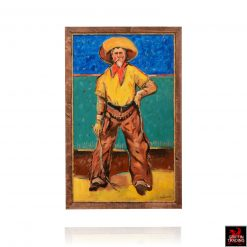 Vaquero painting by Hardy Martin