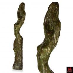 Edouard Vereycken Female Nude Bronze Sculpture