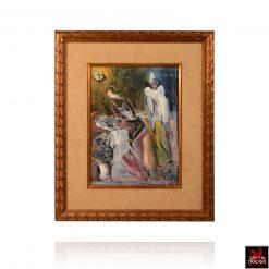Walter Philipp Mid Century Painting