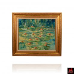 Water Lilies Painting by Hardy Martin