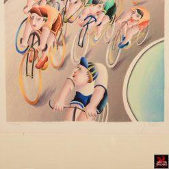 Yuval Mahler Bicycle Print